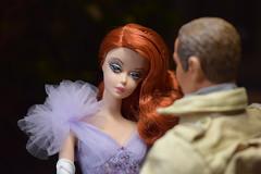 Merry Christmas! (Livia_Taylor) Tags: silkstone barbie lavender luxe blueboxtoys action figure lieutenant donald moore