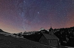 Col des Annes - French Alps (Ludo_M) Tags: night frenchalps aravis france europe milkyway longexposure winter trip travel sigma 20mmf14dghsm|art015 canon eos 6d canoneos6d