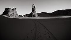 The only way.. (melcadebiskra) Tags: djanet desert algeria algerie sahara dune lost trip roadtrip travel voyage tourisme