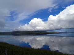 The bay of Firth (stuartcroy) Tags: orkney island bayoffirth water scotland scenery sea sky sony still colour clouds reflection
