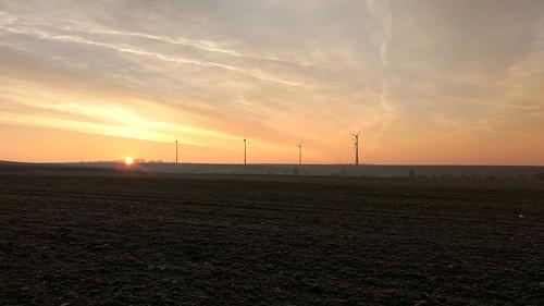 Sonnenaufgang überm Selztal und Selzen #SunriseRun