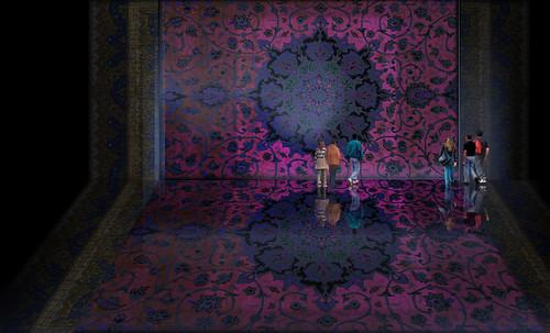"""Alfombras, espacios íntimos que simbolizan templos, árboles de la vida y el conocimiento, astros y paradisos. • <a style=""""font-size:0.8em;"""" href=""""http://www.flickr.com/photos/30735181@N00/32610071735/"""" target=""""_blank"""">View on Flickr</a>"""