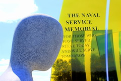 Naval Service Memorial @ National Memorial Arboretum (Adrian J Price) Tags: england memorial arboretum nationalforest naval staffordshire lichfield nationalmemorialarboretum royalbritishlegion