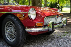 MGB (Jess of Many Trades) Tags: red classic car classiccar mg british mgb applered