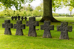 German War Cemetery at La Cambe, Normandy (Paul Carroll - UK) Tags: france cemetery nikon europe worldwarii german overlord fr normandy dday invasion d800