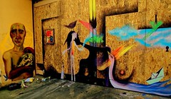 La transparencia de las manos (Felipe Smides) Tags: naturaleza streetart graffiti mural manos muerte vida resistencia cuerpos fuego pintura fuegos valdivia transparencia latinoamérica smides felipesmides niconoclasta