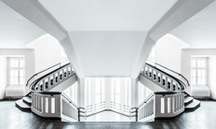 Symmetry, you're my favorite. (Philipp Gtze) Tags: architecture germany dresden symmetry staircase highkey