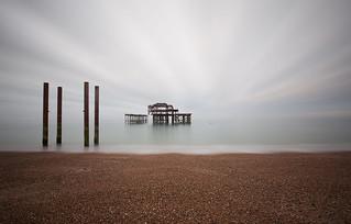 'Brighton pier 350 seconds'
