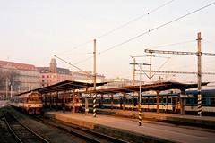 Flexaret 3a - Main Train Station Brno (Kojotisko) Tags: brno creativecommons czechrepublic flexaret ektar kodakektar100 flexaret3a