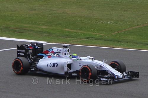 Felipe Massa in qualifying for the 2015 British Grand Prix