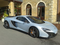 McLaren 650s (woodytyke) Tags: mclaren 650s light blue metallic supercar sporstcar car fast sports mid engined wheel alloy black engine uk england british hotel stone arch holiday inn brooklands barnsley brake caliper english restaurant south yorkshire litre liter silver worldcars woodytyke stephen woodcock photo flickr photographer photograph picture image digital camera phone colour color country national foto best 1 2 3 4 5 6 7 8 9 10 composition