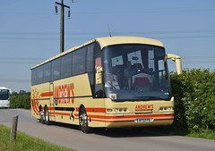 8732 PG: Andrew, Tideswell (originally YN06 FTX) (chucklebuster) Tags: 8732pg yn06ftx neoplan euroliner andrews tideswell