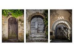 Les portes de Vezelay