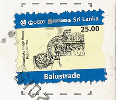 Sri Lanka stamp (lynseelyz) Tags: stamps postcards srilanka douban directswap
