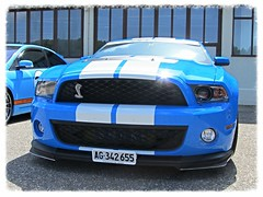 Ford Mustang Shelby GT 500, 2012 (v8dub) Tags: auto classic ford car schweiz switzerland automobile suisse muscle automotive voiture pony american shelby mustang 500 gt collector 2012 wagen pkw klassik bleienbach worldcars