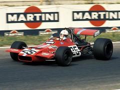 1970 - F1 - Brian Redman - De Tomaso Williams (3) (Alevil Racing Cars) Tags: f1 1970 brianredman detomasowilliams