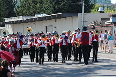 Strike up the Band (Chicago John) Tags: seattle fair fremont parade solstice 2015 fremontfair
