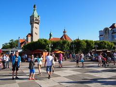 Town center, Sopot!