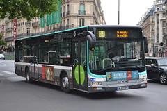 RATP Paris 9933 DM-977-FF (Will Swain) Tags: city travel paris france bus buses st french europe centre capital transport central july des transports 12th ratp lazare 2015 parisiens rgie autonome 9933 dm977ff