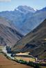 Sacred Valley (kate willmer) Tags: mountain snow river valley fields sky sacredvalley cusco peru