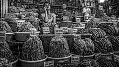 Chau Doc Market (David Ruiz Luna) Tags: blackwhite monochrome monochromatic streetphoto fotocallejera vietnam chaudoc angiang market mercado meal comida mekongdelta deltadelmekong customs costumbres woman mujer people mekong riomekong river rio southeastasia sudesteasiático vietnamita vietnamese asia deltadelriomekong mekongriver southasia indochinapeninsula tourist touring tourism touraroundtheworld viaje trip turismo