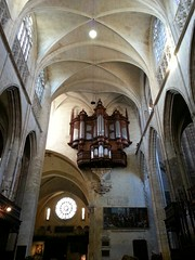 Toulouse  Cathédrale Saint Etienne, orgues (christine.petitjean) Tags: toulouse orgues