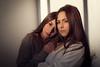 Rime & Rania (aminefassi) Tags: aminefassi copyright fashion mode portrait rimrania twins jumelle fashionportrait windowlight