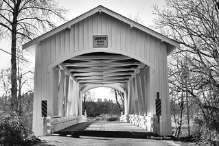 Larwood covered bridge Explored #178 01-04-2017