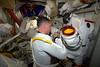 Liquid Cooling and Ventilation Garment (LCVG) (Thomas Pesquet) Tags: shane nasa spacewalk gear eva iss space