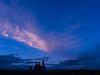 Spectators (JaZ99wro) Tags: 645 e100g e6 f0313 hoodoo mamiya645protl opticfilm120 tetenal3bathkit usa analog blue clouds exif4film film rocks sky sunset ektachrome