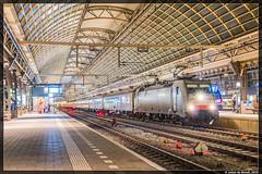 03-12-16 NSI 186 238 + CityNightLine, Amsterdam Centraal (Julian de Bondt) Tags: ns nsi international cnl citynightline amsterdam centraal asd