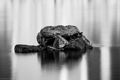 _H1A0180-1 (Bernedti) Tags: nature natureporn canon canon5dsr 5dsr tamron stone longexposure water reflection