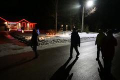 Walking the Neighbourhood (Craig James White) Tags: canada ontario brucecounty saugeenshores portelgin winter snow christmaslights