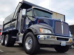 Kenworth - T370 385 Tires1 (TruckPR) Tags: kenworthtruckco kenwortht370 widebasetire 38565r225size bridgestone goodyear michelin mediumdutytruck nondrivefrontaxle