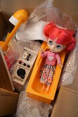 117/365 Mailday (omgdolls) Tags: blythedoll blythe blythe365 adelaideskye dollypunk21 pureneemobody pink sindy pedigree