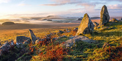 Morning Mist on Bodmin Moor, Cornwall (Andrew Hocking Photography) Tags: brownwilly roughtor tor cornwall bodmin moor camelford landscape mist morning standingstones inexplore weather