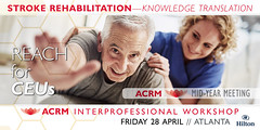 STROKE_Workshop_Badge_1024x512_20Jan17_L (ACRM-Rehabilitation) Tags: progress rehabilitation research stroke science scientificresearch workshop educationalcredit cme medicaleducation knowledgetranslation