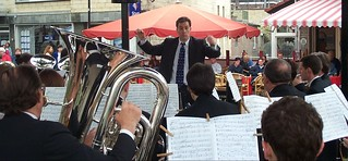 The band's first concert in Valkenburg