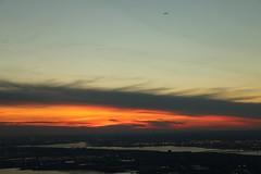 Sunset (One World Observatory) (ALEDWARD) Tags: ellisisland libertyisland redsunset skyline tourist newyork manhattan viewingplatform oneworldobservatory freedomtower