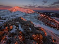 Kamešnica (Leonardo Đogaš) Tags: sunset winter kamesnica dinaric dinaridi snow leonardo đogaš kamešnica outdoor