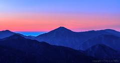 Big Sur Peaks (explore) (philipleemiller) Tags: landscape seascape nature d800 panorama sunset silhouettedhills pacificcoast california dusk picoblanco explore