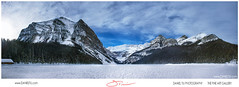 Lake Louise Canada 150 Year (DanTiuD2) Tags: lake louise canada 150 mountain sky winter nikon fineart alberta blue banff clouds daytime gallery hdr ice landscape landscaping photography view relaxation