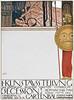 Lithographie de Gustav Klimt (Musée des arts décoratifs, Paris) (dalbera) Tags: dalbera paris france gustavklimt secession secessionviennoise affiche artnouveau jugendstil muséedesartsdécoratifs
