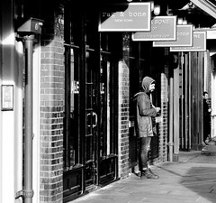 Rag And Bone Men (jaykay72) Tags: london uk street candid streetphotography londonist commercialstreet stphotographia blackandwhite bw