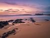 Praia de Foxos (Angel T.) Tags: foxos lanzada olympus omd em10 mar sea beach playa landscape paisaje sanxenxo galicia spain sunset puesta sol