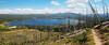 Heart Lake from the Sheridan trail (RPahre) Tags: heartlake mountsheridan yellowstonenationalpark yellowstone panorama pano
