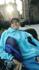 (lejaz) Tags: nj newjersey monmouthuniversity smile beautiful woman cerebralpalsy