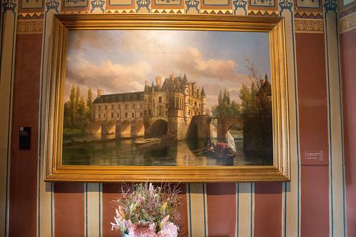 Vestibule du 2ème étage Château de Chenonceau