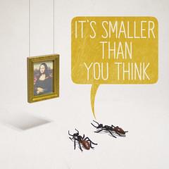 Art For Ants (aledlewis) Tags: ants forants gallery museum monalisa louvre paris