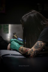 ink (Grains of Rice) Tags: tattoo ink womenwithink artist sonyalphadslr sonyalpha350 sony 50mm